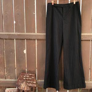 Vintage 90s wide leg pinstriped work pants